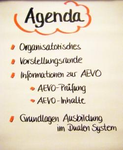 Agenda AEVO-Schulung 1. Tag