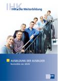 Ausbildung der Ausbilder - Rechtsfälle der AEVO